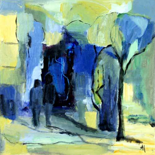Blå nat II