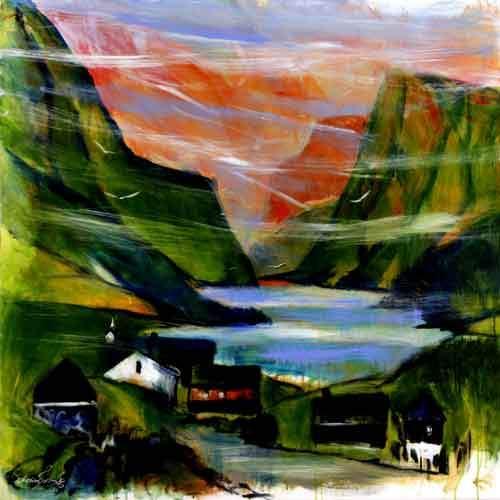 Færøsk bygd