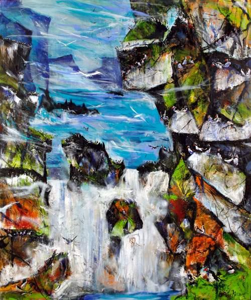 Vandfald - Færøerne