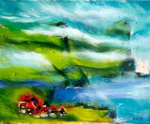 Fjeldside - Færøerne