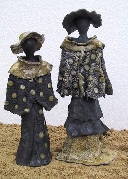 Mor og datter - Madame Agnes og Alice