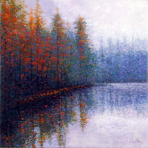 Spejlinger i skovsø